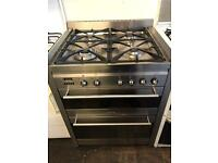 Smeg 70cm gas and electric cooker
