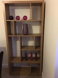 Next Opus Oak Bookcase