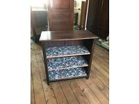 Vintage Bookcase Wood