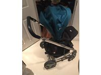 Joie pushchair and carrycot. Offers accepted for just pushchair.