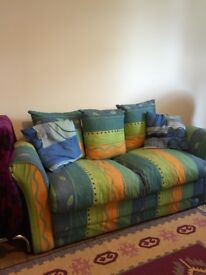 Bargain: Good condition 2 sitter sofabed