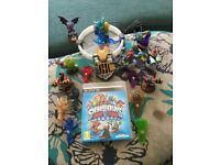 PS3 Skylanders Trapteam Disc with portal and figures