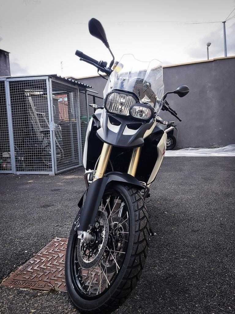 BMW F800 GS 2014 only 270 miles