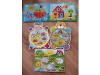 Wooden Baby/Toddler puzzles