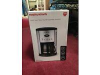 Morphy richards coffee maker/machine