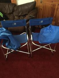 Camping chair x2