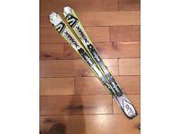 Solomon JR carver rocker Skis Xmax 110cm. New without bindings