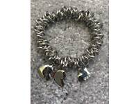 Brand New silver charm bracelet, Pandora style