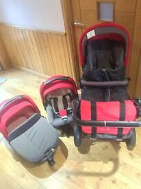 Limited edition Jane Trider travel system
