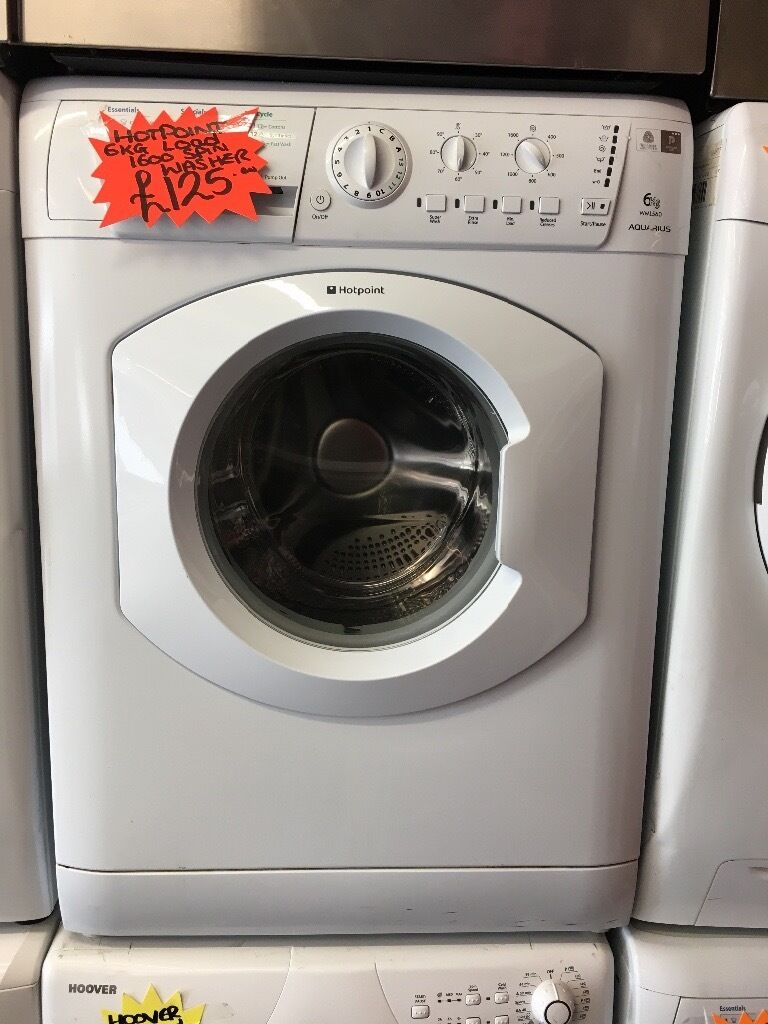 HOTPOINT 6KG DIGITAL WASHING MACHINE