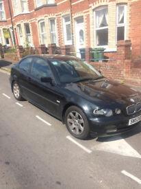 BMW 316ti, 2003 plate, 1.8 petrol