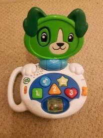 Puppy Scout laptop