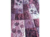 Throw ( quilted) bedspread