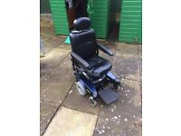 Pronto Sure Step power-chair with riser seat