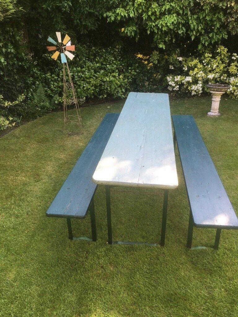 Vintage garden beer keller table for sale