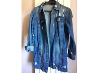 Oversized Denim jacket S/M