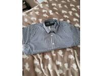 Top man stripe shirt Large