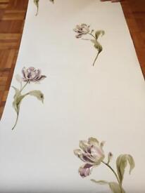 Laura Ashley wallpaper - £5 a roll