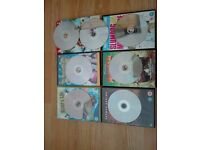 Selection of 6 DVDs available