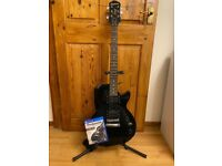 Epiphone Guitar + Rocksmith PS4 & Cables