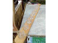 Shots paddle board