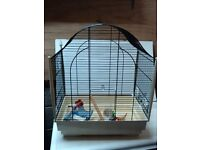 Medium sized bird cage, ideal for budgies
