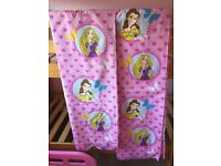 Princess junior bedding and curtains