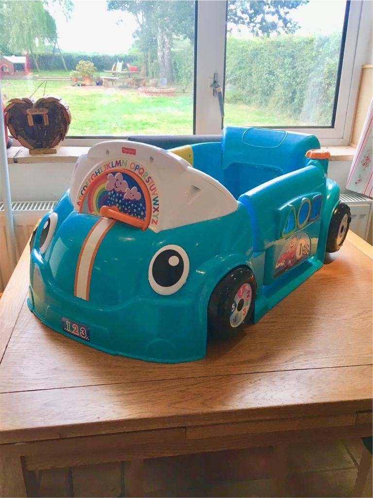 Fisher-Price Laugh & Learn Crawl a Round Car - Blue | in Norwich ...