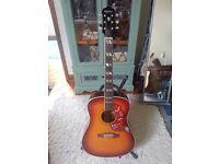 Gibson Epiphone Hummingbird Acoustic Guitar