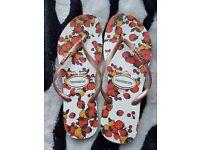 Havaianas flip flops size 6-7 , 39-40