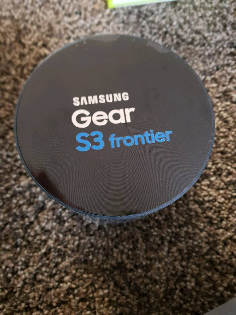 Samsung Gear S3 Frontier brand new sealed in box REDUCED- WILL POST