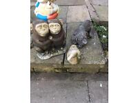 Garden ornaments/statues
