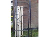 Steel storage racking for garage or workshop easy to assembly