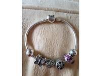 August Birth stone Pandora bracelet