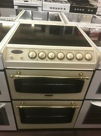 55CM CREAM ELECTRIC COOKER GRILL/OVEN