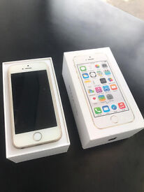 APPLE IPHONE 5S 16GB UNLOCKED WITH RECEIPT AND WARRANTY