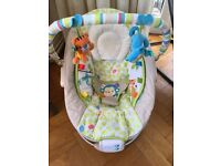 Comfort and Harmony Baby Bouncer Chair - vibrates and plays music