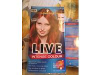 6 brand new Schwarzkopf red hair dyes