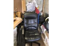 Office chair black. Nice condition free