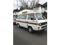 LHD 1990 VW T25 AUTOSLEEPER TRIDENT 4 BERTH BRAND NEW ENGINE FITTED 30,MILES AGO BY VW MAIN DEALER