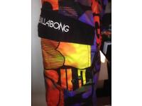 Billabong board shorts swim surf 32 medium