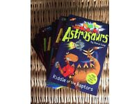 Reading Books Age 7+ Astrosaurs