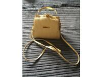 Gold box purse