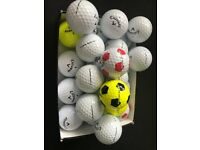 25 Callaway Golf Balls in Excellent Condition (15 Chrome Soft)