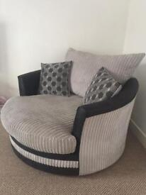 SCS Corner Sofa and Love Chair