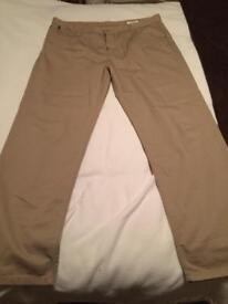 38inch regular white stuff trousers