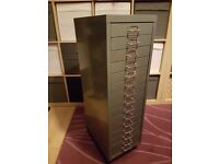 Steel 15 Drawer Filing Cabinet