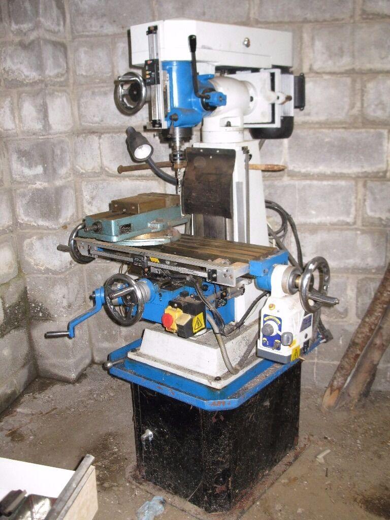 Chester 626 Turret Mill Vertical Milling Machine Deposit