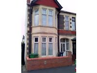 LOVELY 4 BED HOUSE TO LET - HAFOD STREET - VERY CLOSE TO CITY CENTER