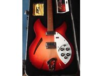Rickenbacker 330 / 12 string w/ Hard case - great condintion